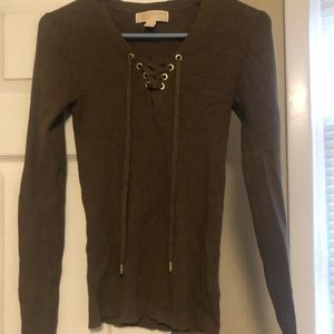 Olive Green Michael Kors Sweater